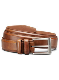 WALNUT WIDE BASIC BELT by Allen Edmonds