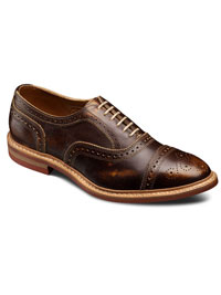 BROWN STRANDMOK by Allen Edmonds