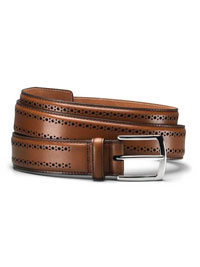 WALNUT MANISTEE BELT by Allen Edmonds