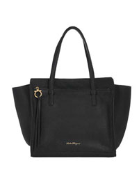 Ferragamo                                                                                                                                                                                                                                                 , Ferragamo GRAND PRIX MEDIUM TOTE
