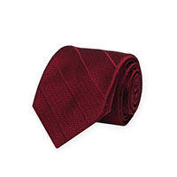 Tie-Burgundy Woven Solid