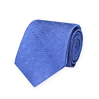 Tie-Blue Woven Solid