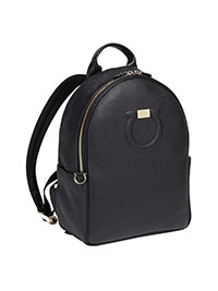 BLACK CITY BACKPACK BY SALVATORE FERRAGAMO