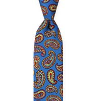 Tie-Blue Printed Twill