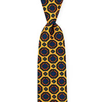 Tie-Gold Printed Neat