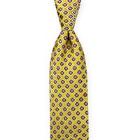 Tie-Gold Woven Neat