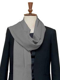 GRAY Luxury Pure Cashmere Scarf - Large