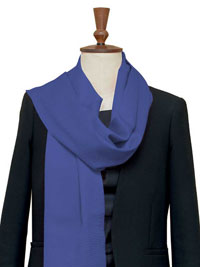 SAPPHIRE Luxury Pure Cashmere Scarf - Large