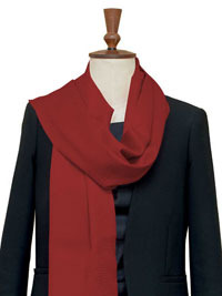 CRIMSON Luxury Pure Cashmere Scarf - Large