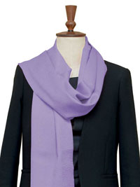 LAVENDER Luxury Pure Cashmere Scarf - Large