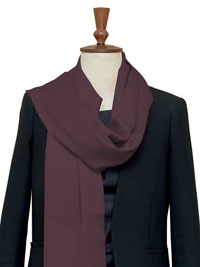 MAROON Luxury Pure Cashmere Scarf - Large