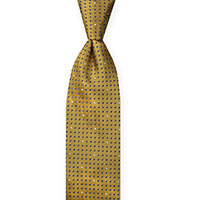 Tie-Gold Woven Dot