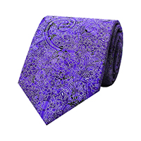 PRINTED PAISLEY - Lavende