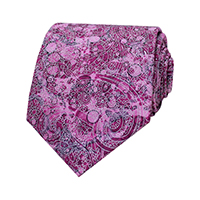 PRINTED PAISLEY - Berry