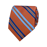 WOVEN STRIPE - Orange