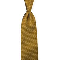 Tie-Gold Woven Pin Dot