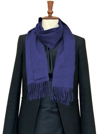 SAPPHIRE Luxury Pure Cashmere Scarf- Regular