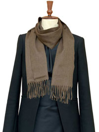 CAMEL Luxury Pure Cashmere Scarf- Regular