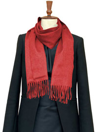 SCARLET Luxury Pure Cashmere Scarf- Regular