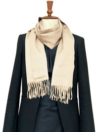 VANILLA Luxury Pure Cashmere Scarf- Regular