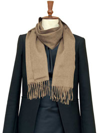 WHEAT Luxury Pure Cashmere Scarf- Regular
