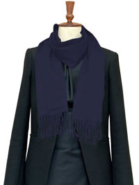 Scarf-Cashmere Blue Jay