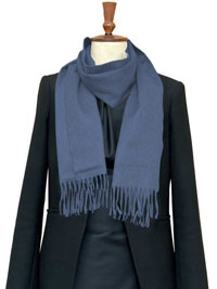 SLATE Luxury Pure Cashmere Scarf- Regular