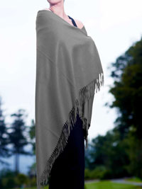GRAY Luxury Pure Cashmere Shawl