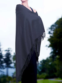 PETROL Luxury Pure Cashmere Shawl