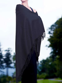 NAVY Luxury Pure Cashmere Shawl