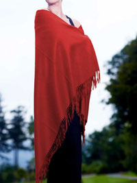 SCARLET Luxury Pure Cashmere Shawl