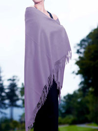 LAVENDER Luxury Pure Cashmere Shawl