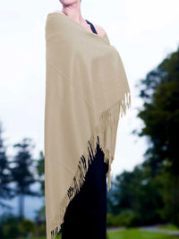 VANILLA Luxury Pure Cashmere Shawl