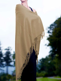 WHEAT Luxury Pure Cashmere Shawl