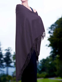 MAROON Luxury Pure Cashmere Shawl