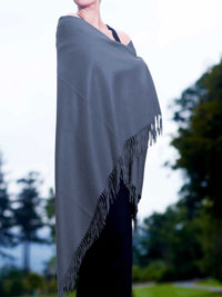 SLATE Luxury Pure Cashmere Shawl