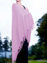 PINK Luxury Pure Cashmere Shawl