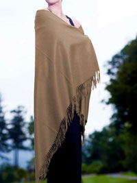 NATURAL Luxury Pure Cashmere Shawl