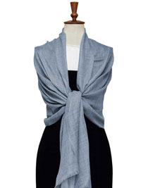 DENIM Gossamer Lighweight Cashmere Scarf