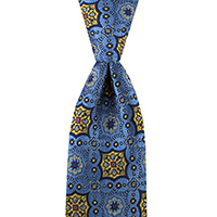 Neckwear-100% Silk - Blue