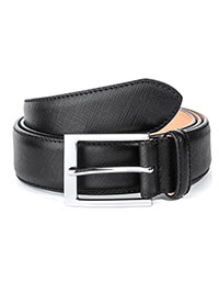 BLACK ToBoot Leather Belt