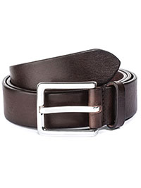 BROWN ToBoot Leather Belt