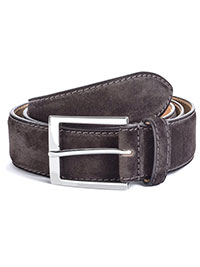 DRK BROWN ToBoot Leather Belt