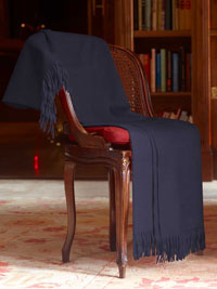 NAVY Luxury Pure Cashmere Throw