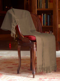 CAMEL Luxury Pure Cashmere Throw
