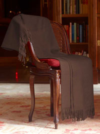TAUPE Luxury Pure Cashmere Throw