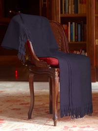 MAROON Luxury Pure Cashmere Throw