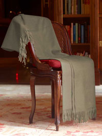 NATURAL Luxury Pure Cashmere Throw