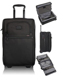BLACK TUMI International Expandable 2 Wheeled Carry-On