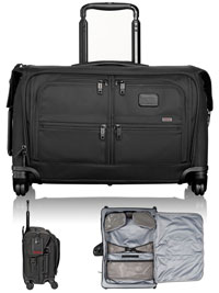 BLACK TUMI Carry-On 4 Wheeled Garment
